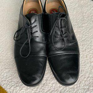 Chaps Leather Dress Shoes Black 12